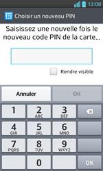 LG Optimus L5 II - Sécuriser votre mobile - Activer le code de verrouillage - Étape 9