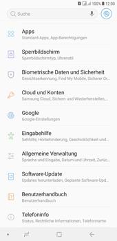 Samsung Galaxy J4+ - Fehlerbehebung - Handy zurücksetzen - Schritt 6