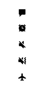 Samsung Galaxy A6 - Premiers pas - Comprendre les icônes affichés - Étape 19