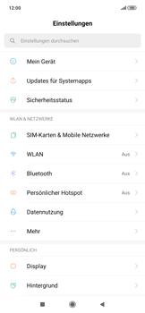 Xiaomi RedMi Note 7 - Internet und Datenroaming - Manuelle Konfiguration - Schritt 3