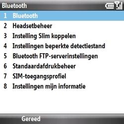 Samsung B7330 Omnia Pro - bluetooth - aanzetten - stap 6