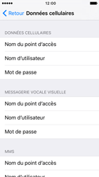 Apple iPhone 5c iOS 9 - Internet et roaming de données - Configuration manuelle - Étape 7