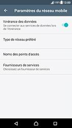 Sony Xperia XA (F3111) - Android Nougat - Internet - Désactiver du roaming de données - Étape 6