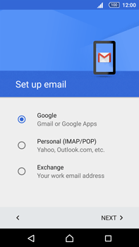 Sony Xperia Z5 Premium (E6853) - E-mail - Manual configuration (gmail) - Step 9