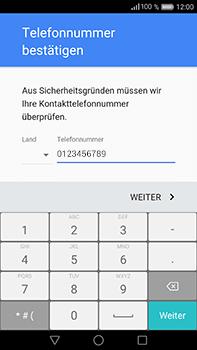 Huawei P9 Plus - Apps - Konto anlegen und einrichten - Schritt 7