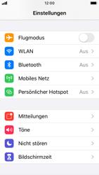 Apple iPhone SE - iOS 13 - WiFi - So aktivieren Sie einen WLAN-Hotspot - Schritt 3