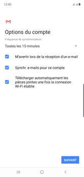 Samsung Galaxy Note10 - E-mail - Configuration manuelle - Étape 20