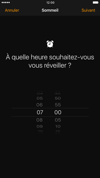 Apple Apple iPhone 6 Plus iOS 10 - iOS features - Coucher - Étape 5
