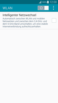 Samsung Galaxy Note 4 - WiFi - WiFi-Konfiguration - Schritt 5