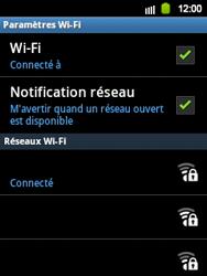 Samsung Galaxy Y - WiFi - Configuration du WiFi - Étape 9