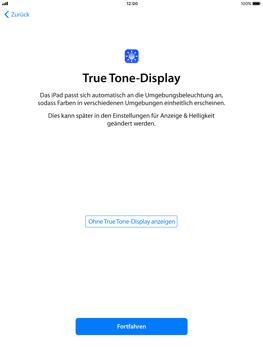 Apple iPad Pro 9.7 inch - iOS 11 - Persönliche Einstellungen von einem alten iPhone übertragen - 24 / 30