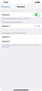 Apple iPhone XS Max - Bluetooth - connexion Bluetooth - Étape 8