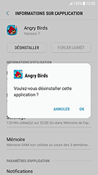 Samsung Galaxy S7 - Android N - Applications - Comment désinstaller une application - Étape 7