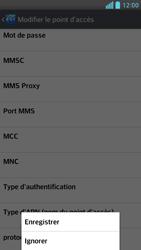 LG D505 Optimus F6 - Internet - Configuration manuelle - Étape 16