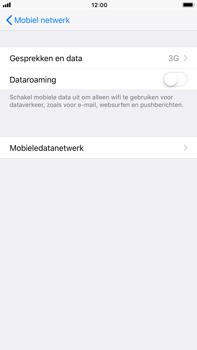 Apple iPhone 7 Plus iOS 11 - Netwerk - Wijzig netwerkmodus - Stap 5