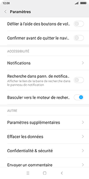 Xiaomi Redmi 5 - Internet - Configuration manuelle - Étape 22