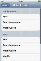 Apple iPhone 4 S - Internet - Handmatig instellen - Stap 7