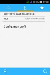 Alcatel Pixi 3 Dual Sim - Contact, Appels, SMS/MMS - Ajouter un contact - Étape 4