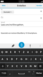 BlackBerry Leap - E-Mail - E-Mail versenden - 1 / 1