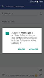 HTC U Play - Contact, Appels, SMS/MMS - Envoyer un MMS - Étape 14