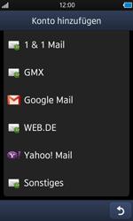 Samsung S8500 Wave - E-Mail - Konto einrichten - Schritt 5