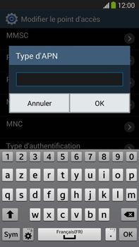 Samsung Galaxy Note III LTE - Internet et roaming de données - Configuration manuelle - Étape 13
