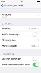Apple iPhone SE - E-Mail - Konto einrichten - 16 / 32