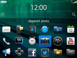 BlackBerry 9720 - Photos, vidéos, musique - Prendre une photo - Étape 3