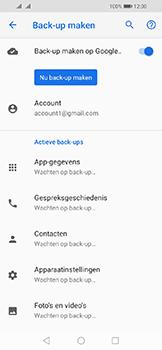 Huawei Y6 (2019) - Data - Maak een back-up met je account - Stap 12