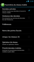 Alcatel One Touch Idol - MMS - Configuration manuelle - Étape 8