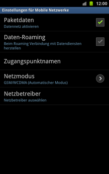 Samsung Galaxy Note - Internet - Apn-Einstellungen - 6 / 17
