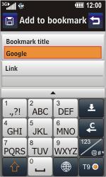 LG GC900 Viewty Smart - Internet - Internet browsing - Step 6