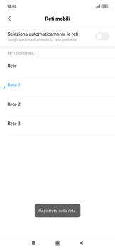 Xiaomi RedMi Note 7 - Rete - Selezione manuale della rete - Fase 13