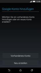 HTC Desire 620 - Apps - Konto anlegen und einrichten - 4 / 23