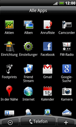 HTC A8181 Desire - Netzwerk - Netzwerkeinstellungen ändern - Schritt 3