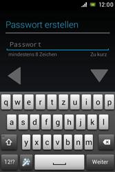 Sony Xperia E - Apps - Konto anlegen und einrichten - 8 / 17