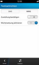 BlackBerry Z10 - MMS - Manuelle Konfiguration - Schritt 6