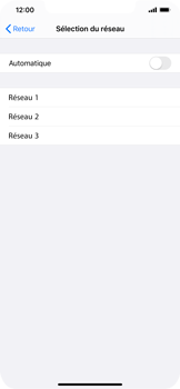 Apple iPhone XR - iOS 13 - Réseau - utilisation à l'étranger - Étape 9