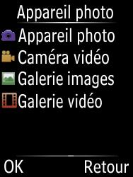 Doro 6620 - Photos, vidéos, musique - Créer une vidéo - Étape 4