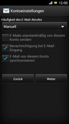 Sony Xperia J - E-Mail - Konto einrichten - Schritt 14