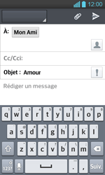 LG P710 Optimus L7 II - E-mail - Envoi d