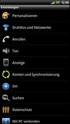 HTC Sensation - Internet - Apn-Einstellungen - 0 / 0