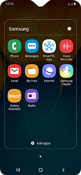 Samsung Galaxy A20e - SMS - Manual configuration - Step 4