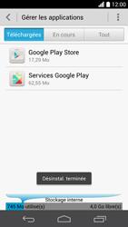 Huawei Ascend P6 - Applications - Comment désinstaller une application - Étape 8