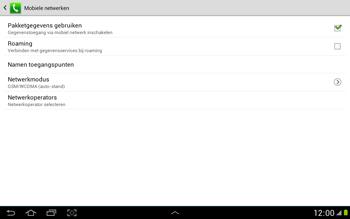 Samsung N8000 Galaxy Note 10-1 - Buitenland - Bellen, sms en internet - Stap 10