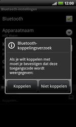 HTC A7272 Desire Z - bluetooth - headset, carkit verbinding - stap 8