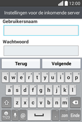 LG L40 (D160) - E-mail - Handmatig instellen - Stap 12