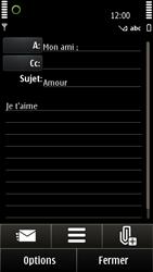 Nokia E7-00 - E-mail - envoyer un e-mail - Étape 9