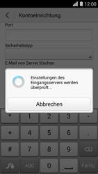 Huawei Ascend Y550 - E-Mail - Konto einrichten - Schritt 13
