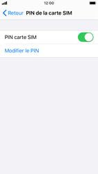Apple iPhone SE - iOS 13 - Sécurité - modifier SIM PIN - Étape 12